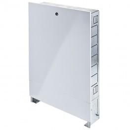 Шкаф Распределительный Встраиваемый С Накладной Дверцей ШРВ-1 Uni-Fitt 38019W670491