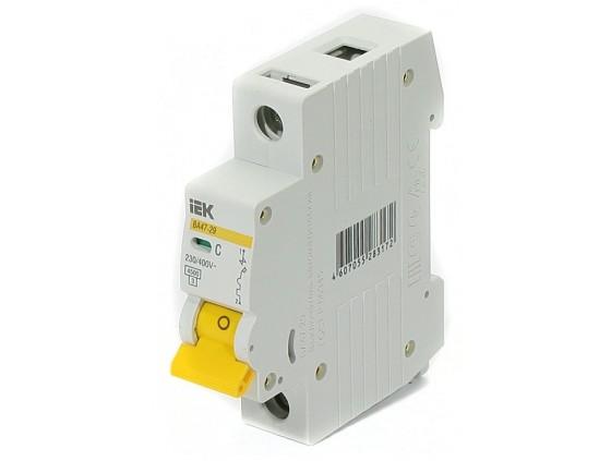 Автоматический Выключатель IEK ВА 47-29 1P C 25 А